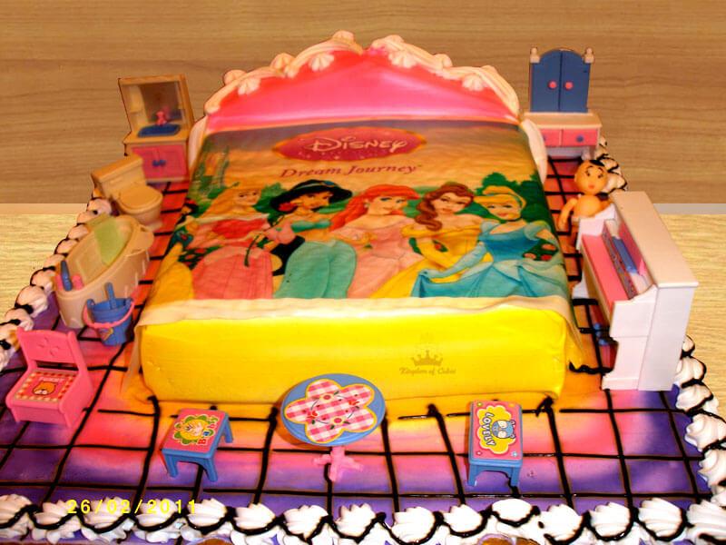 Disney Royale Princess Bedroom Suite
