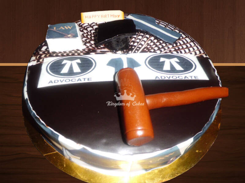 Lawyer Cake From Kingdom Of Cakes