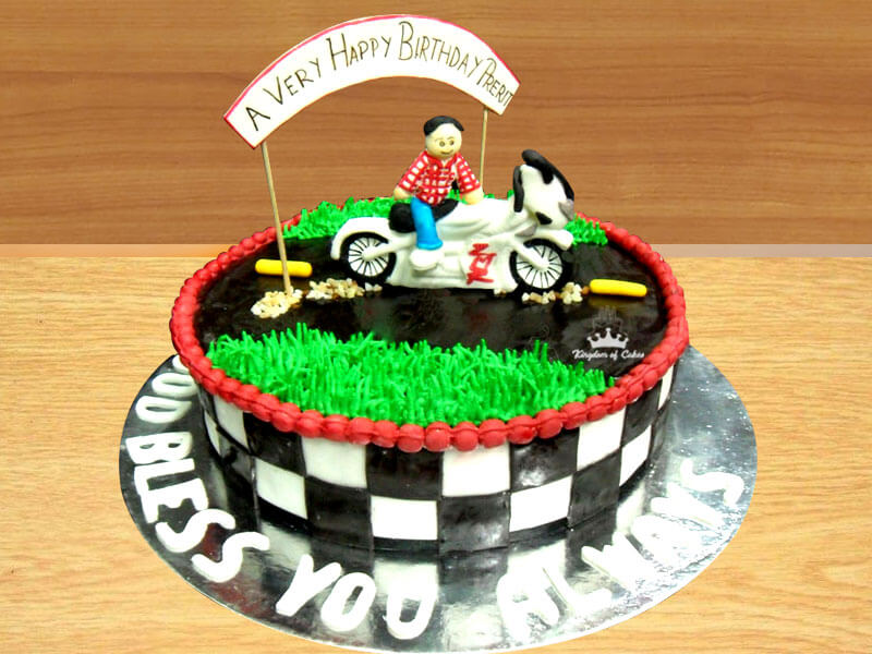 Moto Life Cake From Kingdom Of Cakes