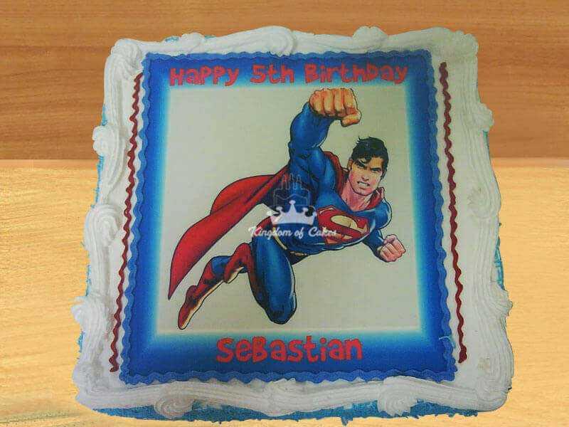 Soaring Superman